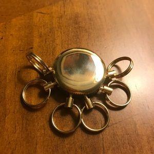 🎁NWOT brass keychain